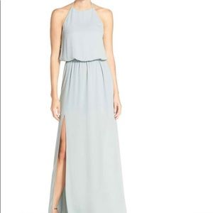 Show Me Your Mumu - Silver Sage Heather Maxi - MED